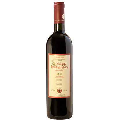 Rotwein MAVROUDI Theodorakas, Karton zu 6 Flaschen