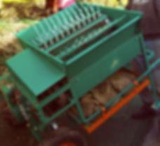 Olivenerntemaschine