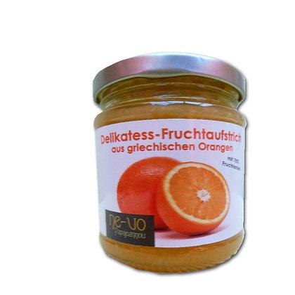 Orangen-Fruchtaufstrich im 210-g-Glas im 4-er-Pack