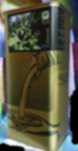 Olivenölgebinde Kanister und Flasche