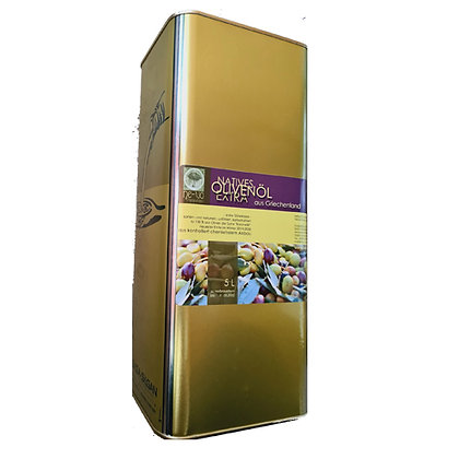 5 L-Kanister Olivenöl extra nativ aus chemiefreiem Anbau,  ab 4 bis 20 Kanister