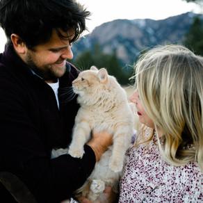 Kaila, Jake & Binx | Couples Holiday Session