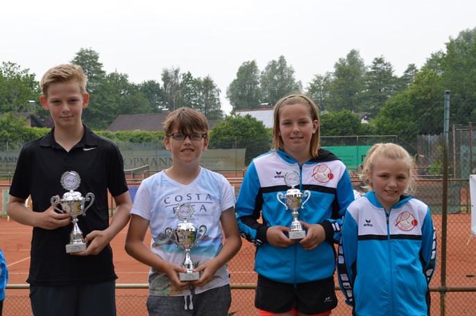 Drei Regionstitel gehen an den TC Blau Weiß Emlichheim