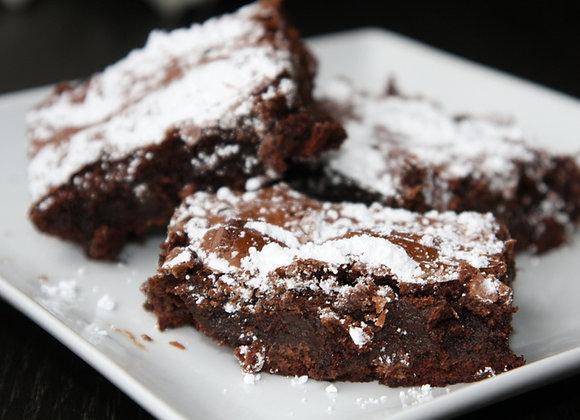 Vegan Cocoa Brownie (Gluten Free) - Dozen