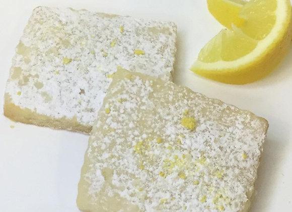 Lemon Shortbread - Dozen