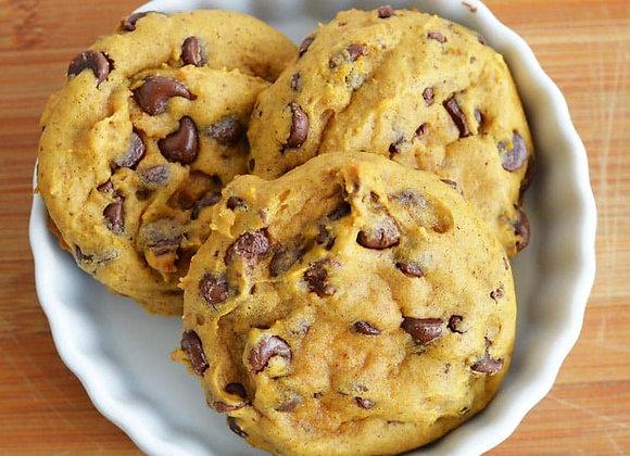 Pumpkin Chocolate Chip Cookie - Dozen