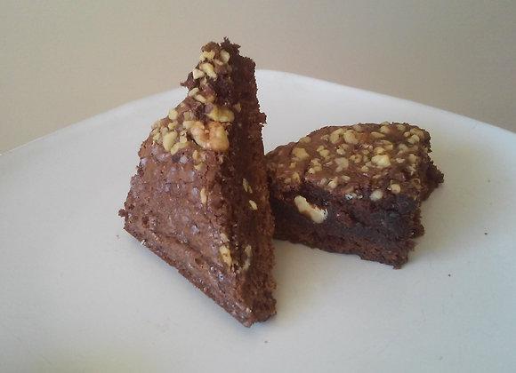 Mocha Walnut Brownie - Dozen
