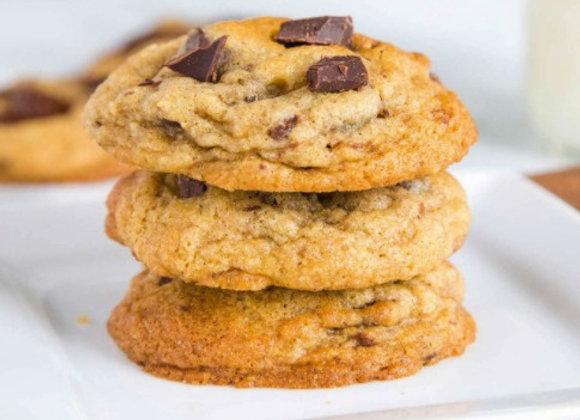 """Sin""-Chocolate Chip Cookies - Dozen"