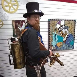 Scene from the _Love in a Steampunk Worl
