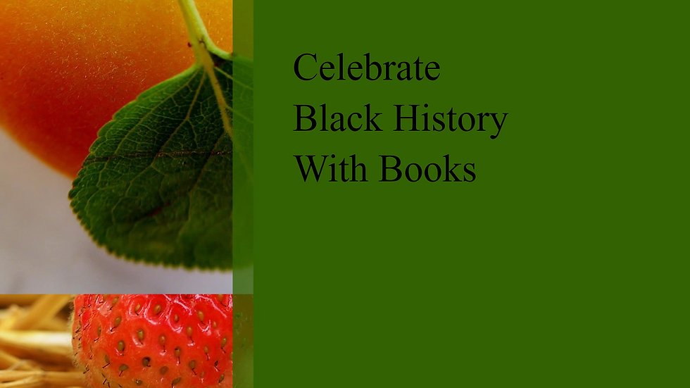Celebrate Black History With Books