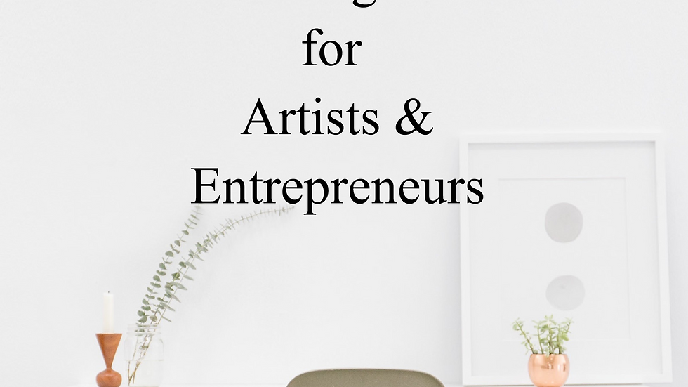 Reading List for Artists & Entrepreneurs