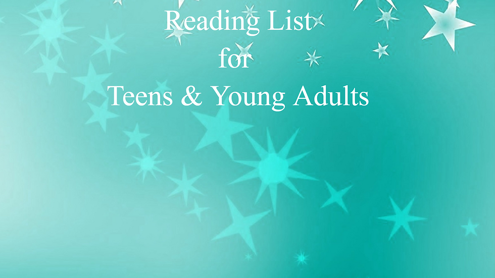 Reading List for Teens & Young Adults