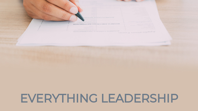 Everything Leadership Digital Workbook