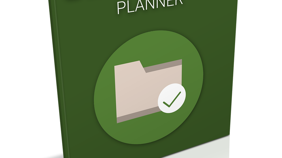 Getting Organized Planner