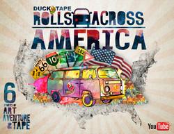 Duck®Tape Rolls Across America