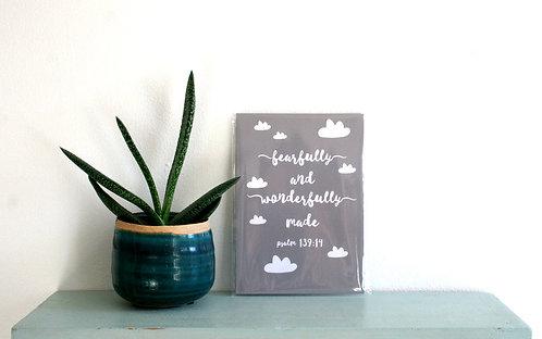 Wonderfully Grey Mini Print