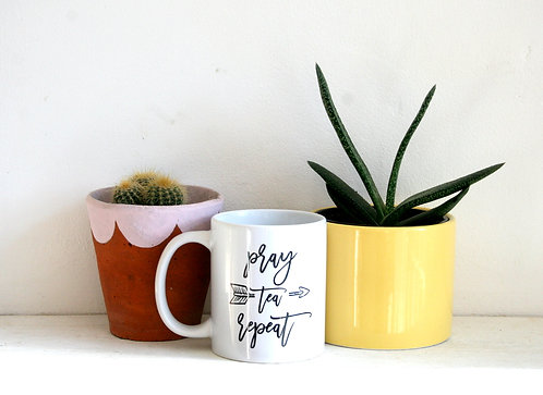 Pray-Tea-Repeat Mug WS