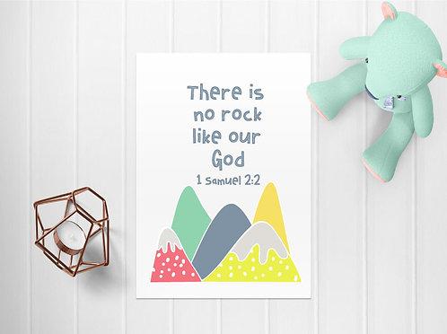 A4 Kids Mountain Print WS