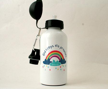 Rainbow Metal Water Bottle