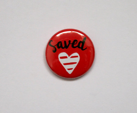 Saved Pin Badge