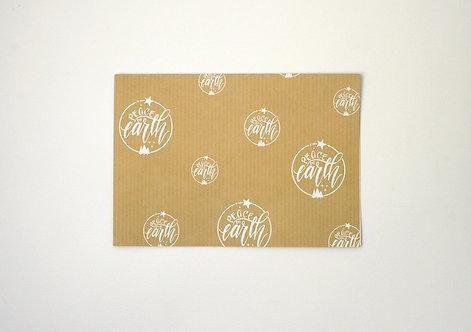 Peace On Earth Luxury Gift Wrap