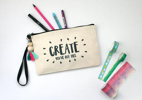 Create Linen Pencil Case WS