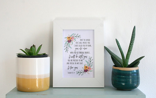 I Love You 6 x 4 Framed Print