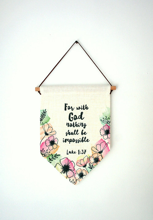 Flora Wall Hanging WS