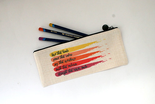 Love That Heals Pencil Case