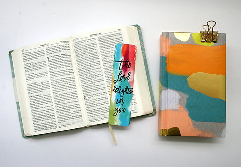 The Lord Delights Bookmark