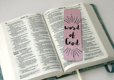 Word Of God Bookmark WS