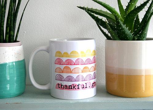 Thankful Pinks Mug