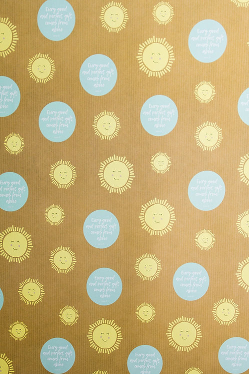 Sunshine Luxury Gift Wrap