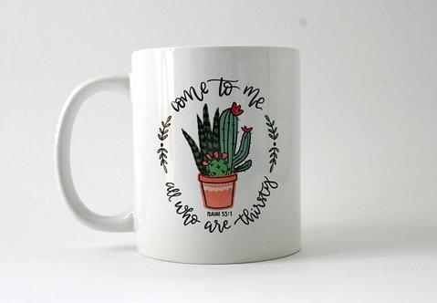 Thirsty Cactus Mug WS