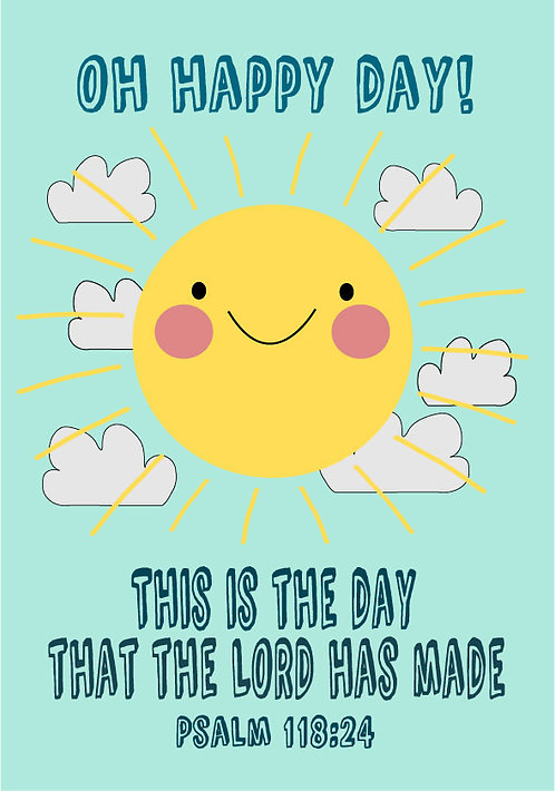 Oh Happy Day! A4 Downloadable Print