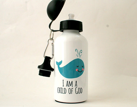 Child Of God Metal Water Bottle WS