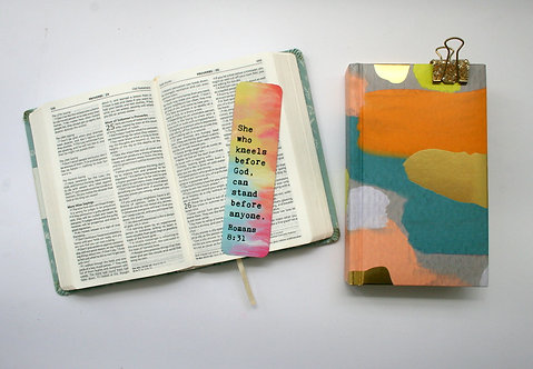 She Who Kneels Bookmark WS