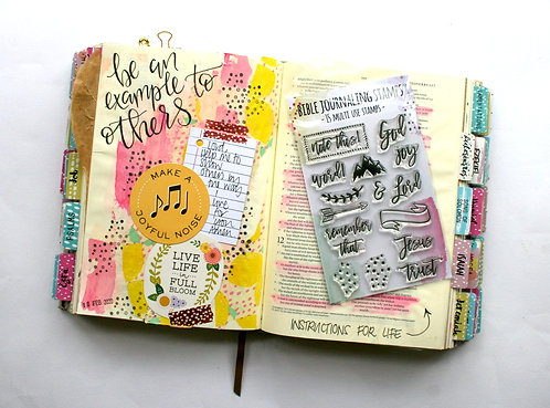 Note This! Bible Journaling Stamps