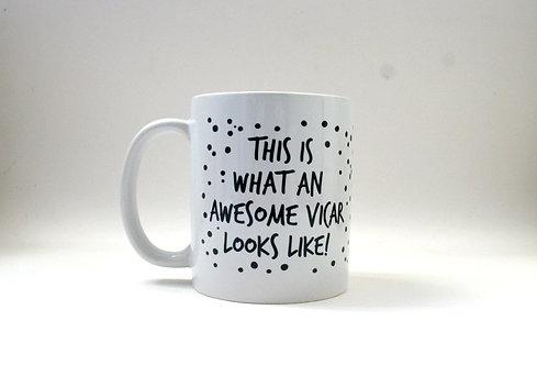 Awesome Vicar Mug