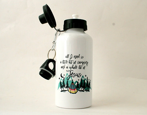 Camping Metal Water Bottle