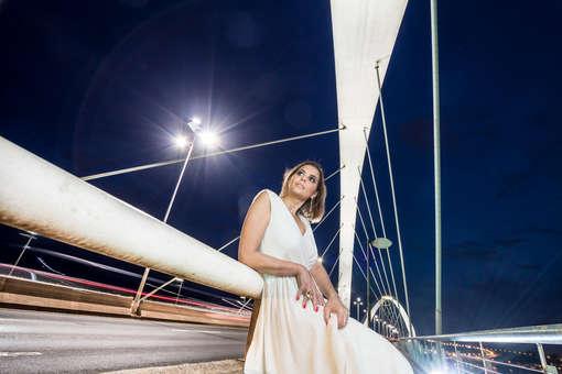 Ensaio fotográfico na ponte jk, modelo, 30 anos