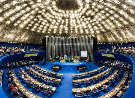Evento corporativo sessão solene no senado federal em homenagem a classe contábil