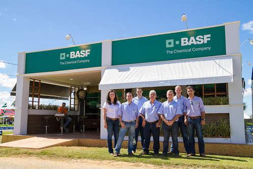 Evento corporativo para a BASF, agrobrasília