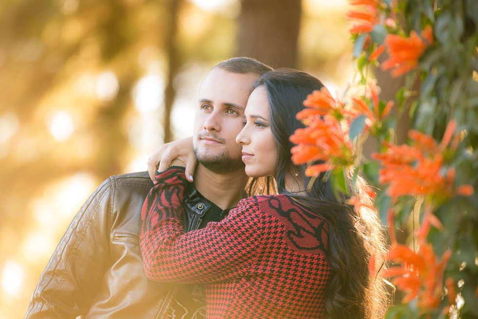 Casal no jardim Botânico