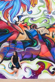 Ensaio de 15 anos, debutante, grafiti, w3