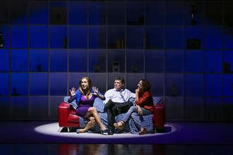 Peça de teatro em evento corporativo no MSC Precioza