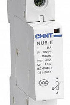 Ограничитель импульсных перенапряжений NU6-Ⅱ1Р In 15kA (Im 40kA)