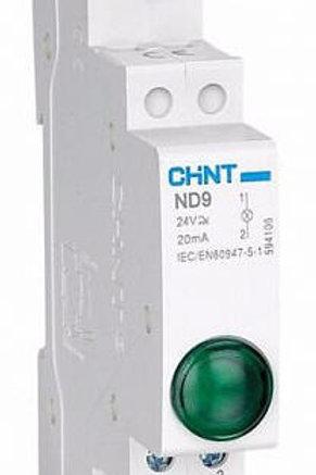 Модульный индикатор ND9-1/y желтый AC/DC230В (LED)