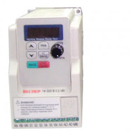 Преобразователь частоты E5-8200-F-S3L, 2.2кВт, 220В, 1 фаза, с ЭМИ фильтром