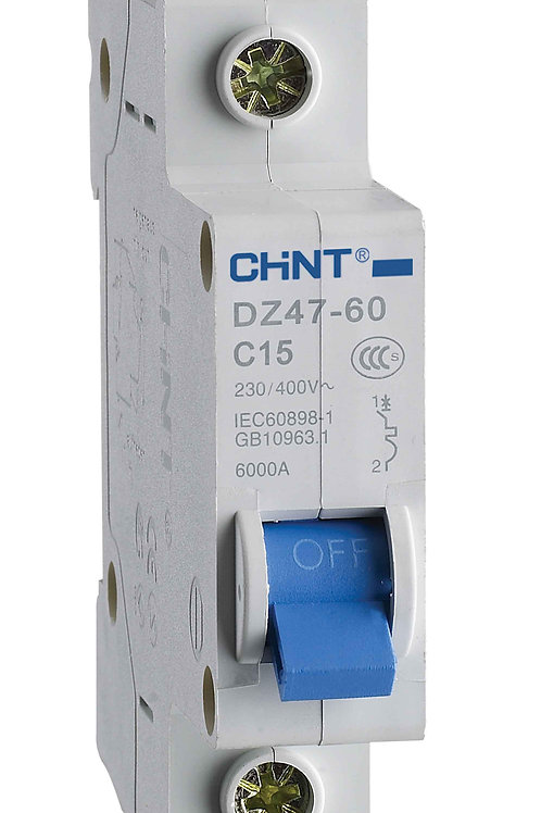 Авт. выкл.DZ47-60 1P 10A 4.5kA х-ка C